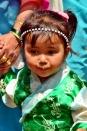 Little angel with Tibetan Attire