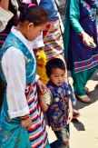Young kid on traditional attire